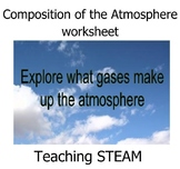 Composition of the Atmosphere worksheet