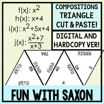 Compositions Triangle Puzzle! (GOOGLE SLIDES VERSION INCLUDED!)