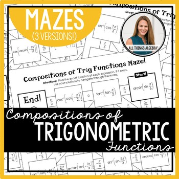 Compositions of Trigonometric Functions Mazes