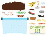 Compost It! Clip Art Set
