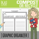 Compost or Recycle T- Chart Graphic Organizer