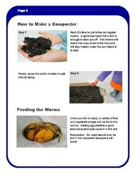 Composting With Red Wigglers - 8 pages