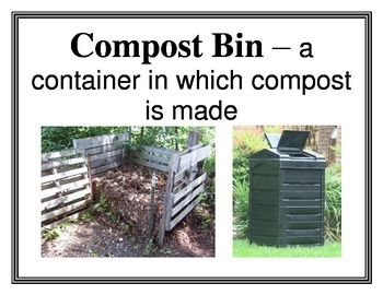 Composting Word Wall Vocabulary