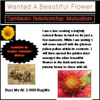Symbiotic relationship want ad example