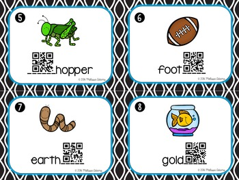 Compoud Words with QR Codes