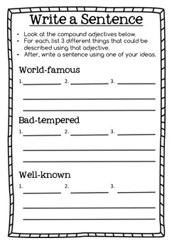 Compound Word Activity Pack