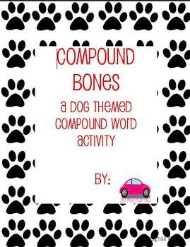 Compound Bones compound words activity