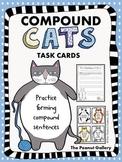 Compound Cats Task Cards (Compound Sentences)