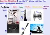 Compound / Complex Machines & Rube Goldberg - Lessons, videos