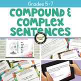 Writing Compound and Complex Sentences Spring Bundle