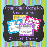Compound-Complex Sentence Structure Task Cards