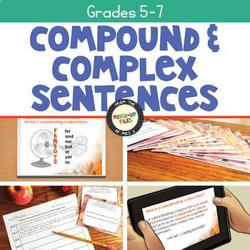 Writing Compound and Complex Sentences Bundle