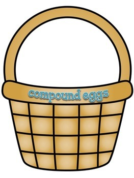 Compound Eggs: A Daily Five Word Work Center for Making Compound Words