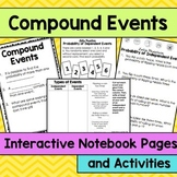 Compound Events Interactive Notebook Pages