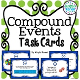Compound Events Task Cards: 7.SP.8