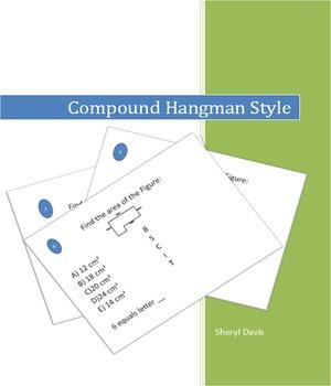 Compound Figures Hangman Style
