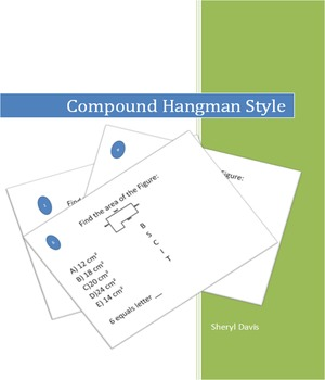 Compound Figures Hangman Style