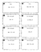 Compound Inequalities, Absolute Value Equations & Inequality Task Cards
