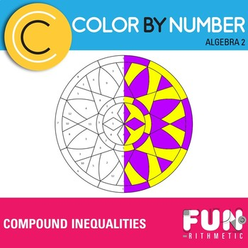 Compound Inequalities Color by Number