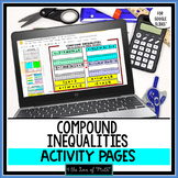 Compound Inequalities Digital Activity For Google Drive™