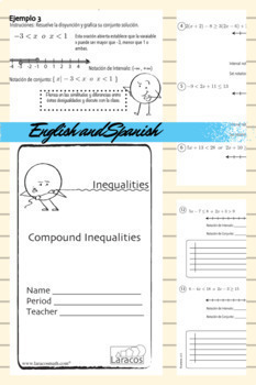 Compound Inequalities (English/Spanish)