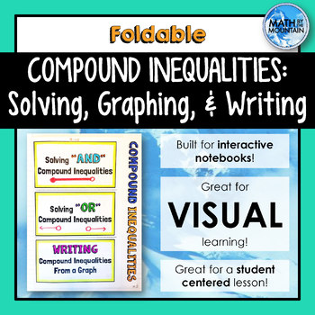 Compound Inequalities Foldable - Solving, Graphing, and Writing