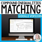 Compound Inequalities Matching Activity for GOOGLE Slides