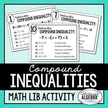 Compound Inequalities Math Lib