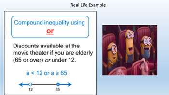 Compound Inequalities (PowerPoint Lesson & Printables)