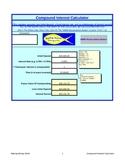 Compound Interest Excel Calculator