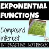 Compound Interest Exponential Functions UPDATED