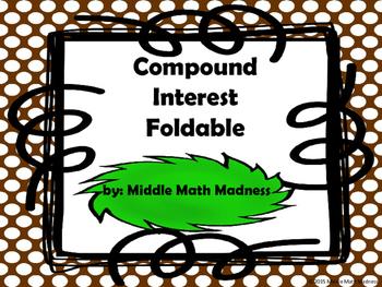 Compound Interest Foldable