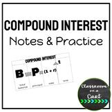 Compound Interest: Notes & Practice
