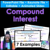 Compound Interest PowerPoint/Keynote Presentation