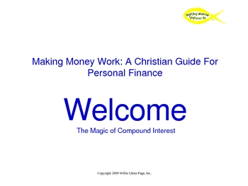 Compound Interest PowerPoint Presentation