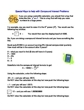 General Math: Compound Interest Study Guide