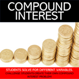 Compound Interest Worksheet - Marvel Superhero Names!