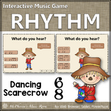 Compound Meter 6/8 Interactive Rhythm Game {Dancing Scarecrow}
