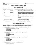 Compound, Mixture, Periodic Table Quiz