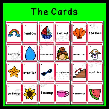 Compound Words Activities (Compound Words Game)