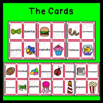 Compound Words Activities (Compound Nouns Game)