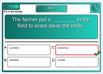 Interactive Compound Nouns Activity for IWB