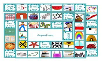 Compound Nouns Board Game