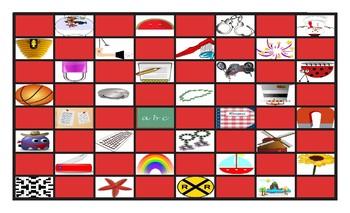 Compound Nouns Checker Board Game