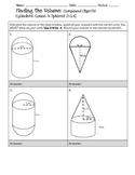 Compound Objects (Volume) 8.G.9