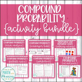 Compound Probability Activity Bundle