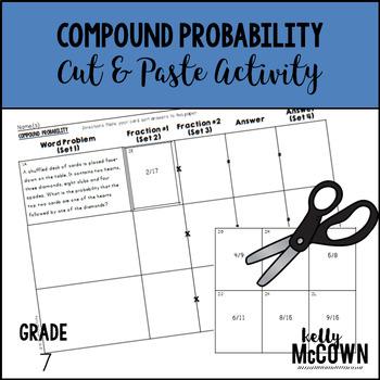 Compound Probability Cut & Paste Activity