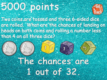 Compound Probability Game