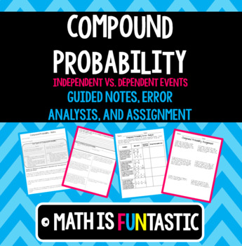 Independent Compound Probability Teaching Resources | Teachers Pay ...