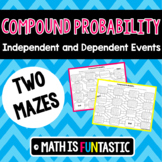 Compound Probability Mazes